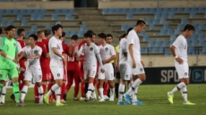 '무관중·골대 불운'에 운  한국, 레바논과 0-0 무승부