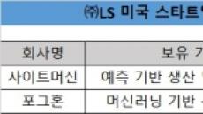 [단독]LS, 美스타트업에 350억 투자…신기술 확보 박차