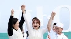 """김정숙 여사, '아세안의 맛' 행사 참석…""""음식통해 우정 나눠요"""""""