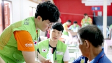 제주항공-열린의사회 라오스에서 19번째 의료봉사
