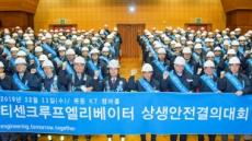 [헤럴드포토]티센크루프엘리베이터코리아,  '상생협력결의대회'