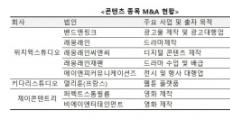 'OTT 빅뱅' 따라 콘텐츠 M&A도 만개