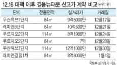 [12.16 부동산대책 한달 긴급점검]비강남 준신축 등으로 풍선효과 '뚜렷'