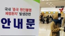 '우한 폐렴'에 한국인 중국여행 취소 20% 육박