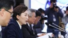 """김현미 장관 """"항공업, '신종코로나 타격' 사스·메르스때보다 커…전방위 지원"""""""
