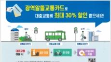 안성시, 대중교통 요금 할인 받는 '초간단 비법'