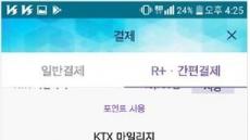 한국철도, 열차승차권 '간편현금결제' 서비스 도입