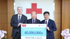 한국바스프, 코로나19 대구경북 기부금 4000만원 전달
