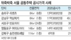 뒤죽박죽 서울 공시가…평균보다 갑절 뛰고 현실화율 제각각