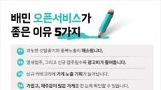광고 수수료 5.8%로 인하…배달의민족 요금체계 개편