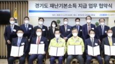 이재명, 13개 금융기관 '재난기본소득 지급' 업무협약