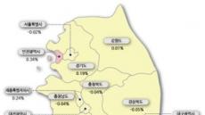 서울 아파트값, 9개월 만에 '마이너스'…마용성도 꺾였다