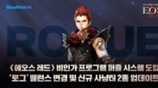 '에오스 레드' 작업장 대응 업데이트 및 월드 이전 일정 공개