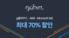 [생생코스닥] 가비아, g클라우드, AWS 등 이용료 70% 지원