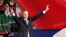 폴란드 대선 출구조사서 우파 두다 1위…과반 득표는 실패