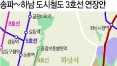 [부동산 360] '비용이냐 집값이냐'…송파~하남 도시철도 '세 갈래 길'