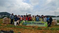 용인 농업기술센터, 일손부족 농가돕기 나서