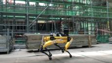 GS건설, 건설현장에 로봇 '스팟' 도입…국내 최초
