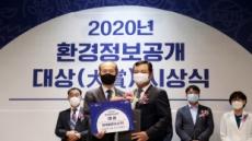 현대글로비스 '2020년 환경정보공개 대상' 환경부장관상 수상