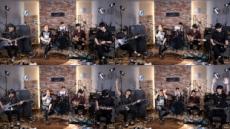 'K-Rock 선두주자' 버스터즈, 라이브 생중계 공연 성료…글로벌 팬 열광