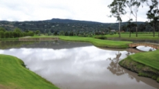 [백상현의 세계 100대 골프 여행 - 콜롬비아 '엘 링콘 데 카히카'] 키 큰 나무들·10여개 연못… 고지대 호쾌한 장타 시원한 샷