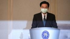 """대만 외교장관 """"中, 대만을 또 다른 홍콩으로 만들려 압박"""""""