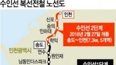 수원~인천 복선전철 12일 전구간 개통