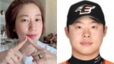 """김영희, 야구선수 출신 윤승열과 결혼 """"계속 웃음을 전해드리겠습니다"""""""