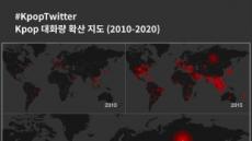 'K팝' 트윗 최다국은 미국…BTS 빌보드 첫 수상한 2017년 가파른 상승