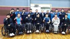 합동훈련·재능기부·518묘역 참배…실업탁구팀 나눔으로 코로나 극복
