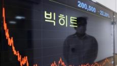 [특징주] 빅히트 또 신저가…장중 18만원도 깨졌다