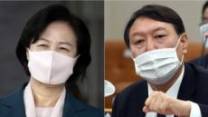 """'추미애-윤석열 갈등'에 입닫은 靑…""""대통령 말씀 들은 바 없다"""""""