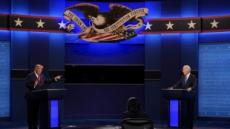 트럼프·바이든, 마지막 TV토론서 뜨거운 설전