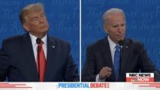 """트럼프 """"바이든 아들, 진공청소기처럼 돈 빨아들여""""…바이든 """"한 푼도 안 받아"""""""