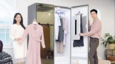 """""""더 편하고 꼼꼼한 의류관리""""…LG전자, 트롬 스타일러 블랙에디션2"""