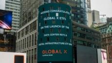미래에셋 Global X, 데이터센터 리츠 및 디지털 인프라 ETF 나스닥 상장
