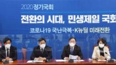 [헤럴드pic] 발언하는 더불어민주당 김태년 원내대표