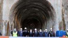 호반산업, '반포천 유역 분리터널 건설공사' 터널 관통