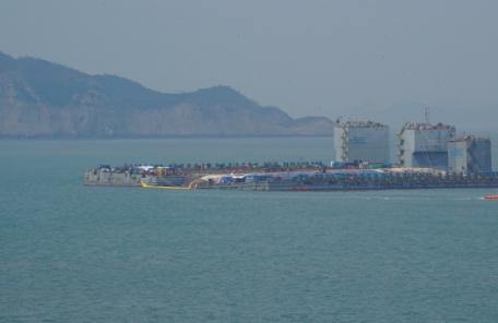 해수부, 오후 10시 진도군청서 세월호 인양 관련 긴급 브리핑(속보)