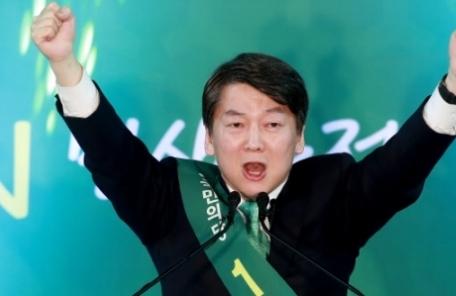 안철수, 대구·경북·강원서도 72.41% '4연승'