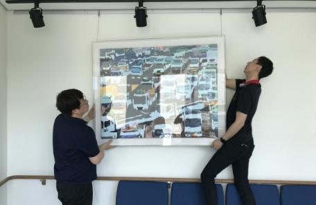 성남문화재단, '찾아가는 미술은행' 릴레이 전시