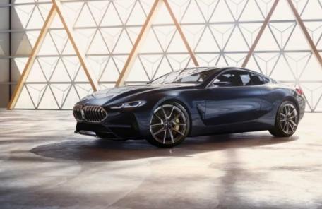 BMW S-클래스 겨냥한 신무기 '8시리즈 콘셉트' 공개