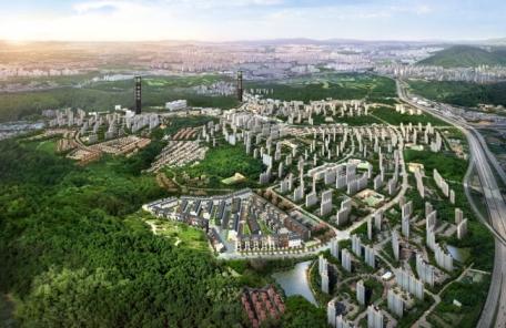 (헤경홈피만)라온건설, '동백 라온프라이빗 테라스파크' 분양