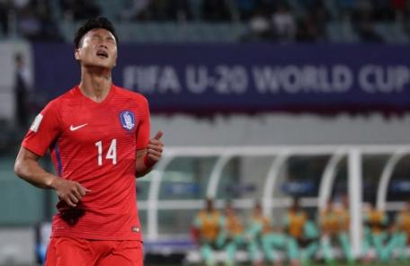 [전반]10분, 27분 잇달아 골 허용…한국 0-2 포르투갈