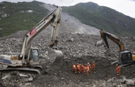 中 쓰촨성 산사태 인명피해 10명 사망 93명 실종