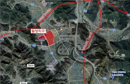 경남 밀양, 나노산업 중심지로…'나노융합 국가산업단지' 조성