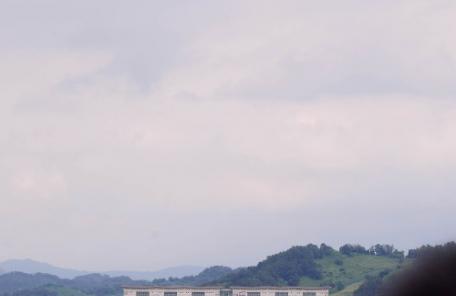 [헤럴드포토] '구름 낀 군남댐…'