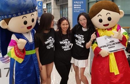 [포토뉴스] 월드클럽돔을 찾은 베트남 DJ 짱문(Trang Moon)