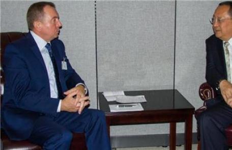 리용호 北외무상, 벨라루스 외무장관과 회담…유엔 총회서 만나