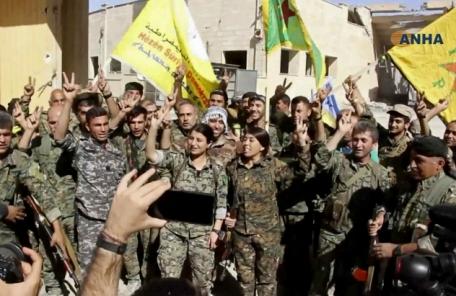 """IS 수도 장악한 '아랍연합'…""""시리아에 통제권 안줘"""""""